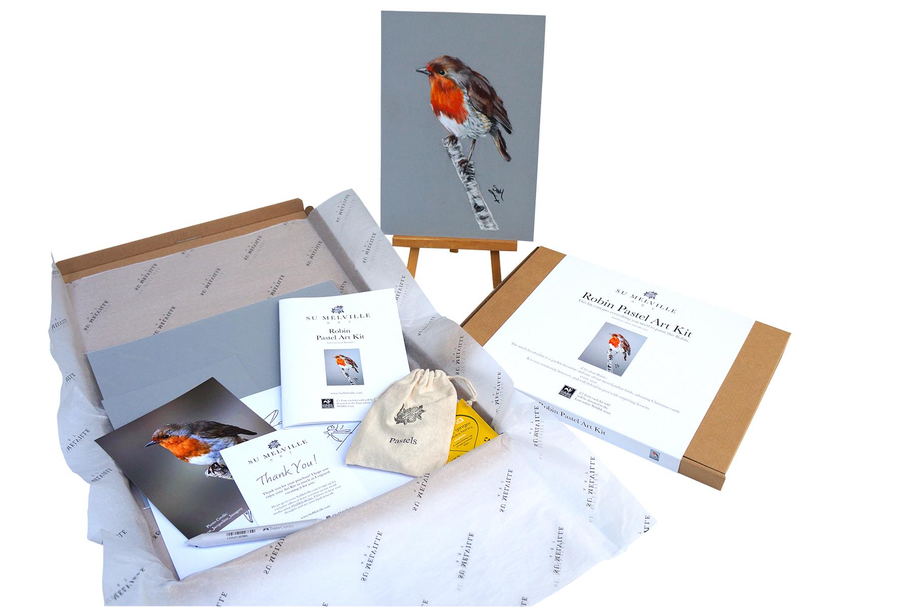Robin Art Kit, Art Kit
